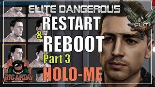 Elite: Dangerous Beginners Guide Holo Me Commander customisation Restart and reboot