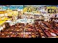 DIY Budget Travel (4K) - Best of Fes: Medina, Chouara Tannery, Dar Batha Museum