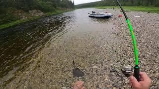 Рыбалка на Горной Реке водомётное путешествие часть 1 вая