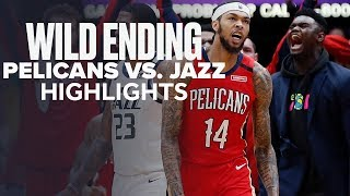 New Orleans Pelicans and Utah Jazz Have Wild OT Finish | Highlights
