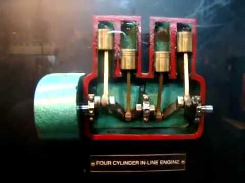 Inline Cylinder Engine