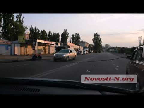 В Николаеве микроавтобус
