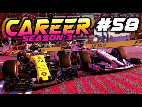 F1 2017 Career Mode Part 58: INSANE RESULTS ALL ROUND!