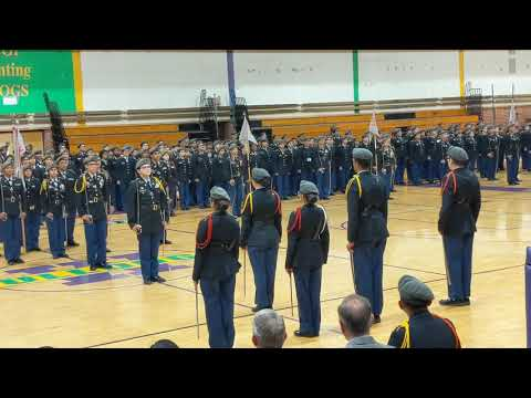 Waukegan High School JROTC New Cadets 2019-2020 Parents Night