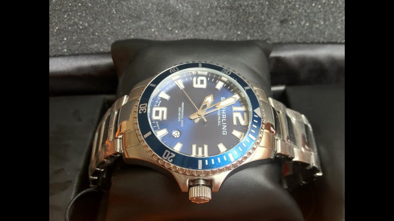 75cef7257 Stuhrling Watches - 3 Best Stuhrling Original Aquadiver Regatta Watches for  Men
