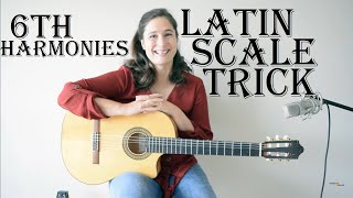 Sound more LATIN with this guitar scale trick!