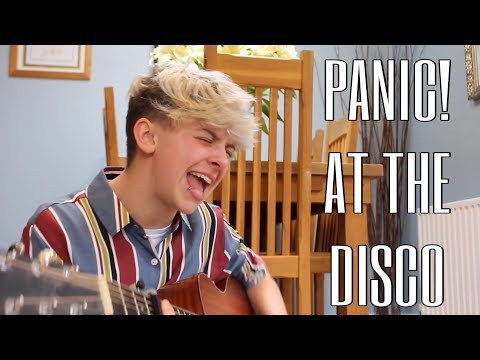 I SANG PANIC! AT THE DISCO SONGS
