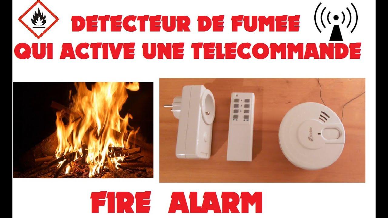 tronik aventur n 102 alarme incendie amelioree detecteur fumee qui active une telecommande. Black Bedroom Furniture Sets. Home Design Ideas