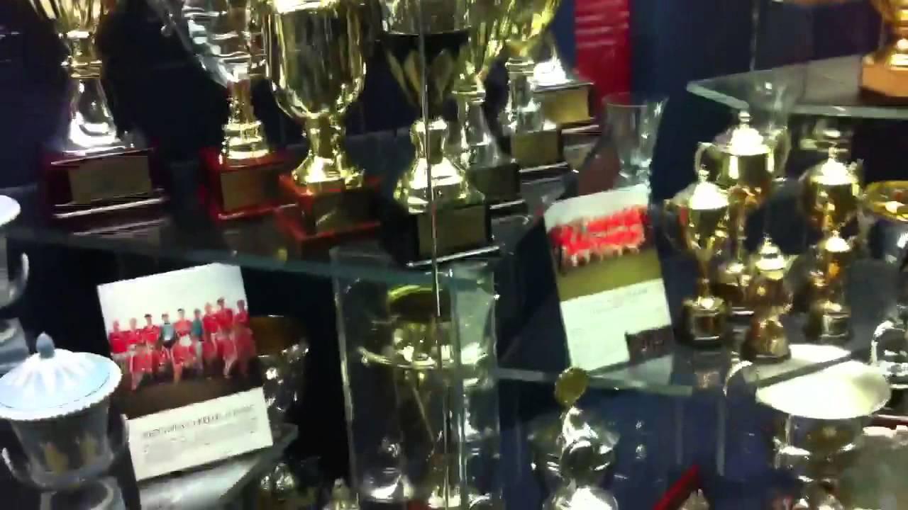 Trophy Room At Old Trafford