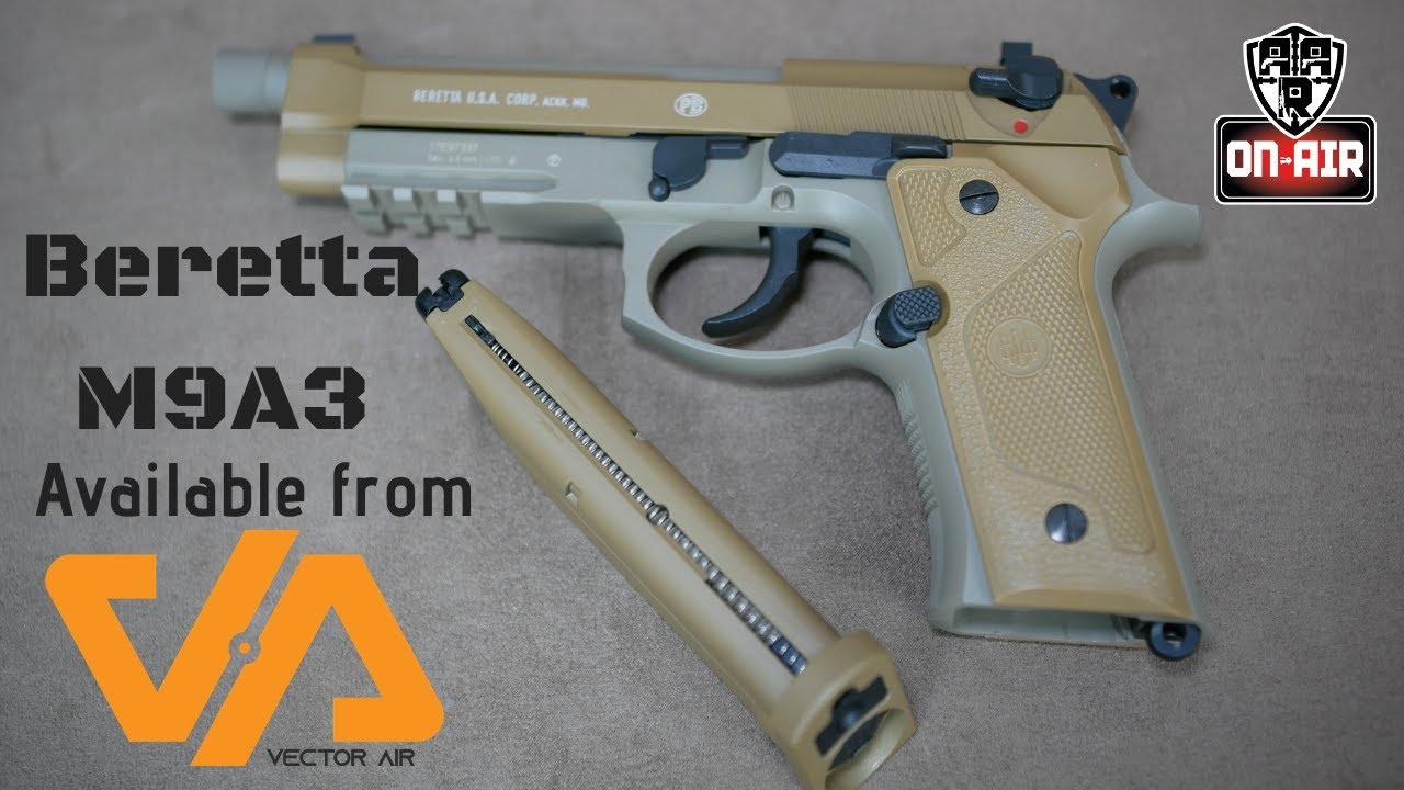 Beretta M9A3 CO2 Pistol