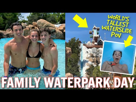 *POV* on the WORLD'S TALLEST WATERSLIDE   A Day at Disney's Blizzard Beach   Disney World DAY SEVEN