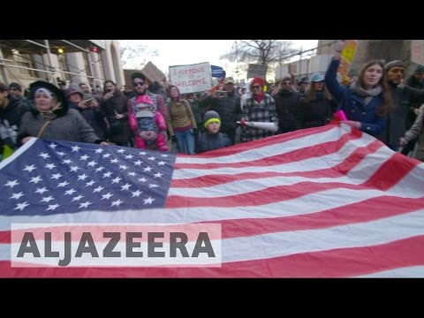 Protests across US against Trump