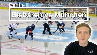 DEL Eishockey EHC Eisbären Berlin 2 - 5 Red Bull München