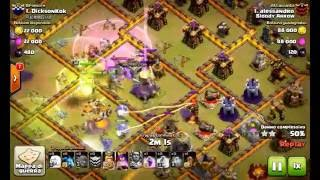 Clash Of Clans - WAR 3 Star attack (Bowler)