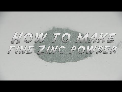 How To Make Fine Zinc Powder
