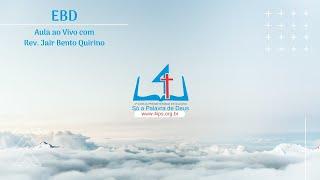 EBD | Aula EBD | 11/04/2021
