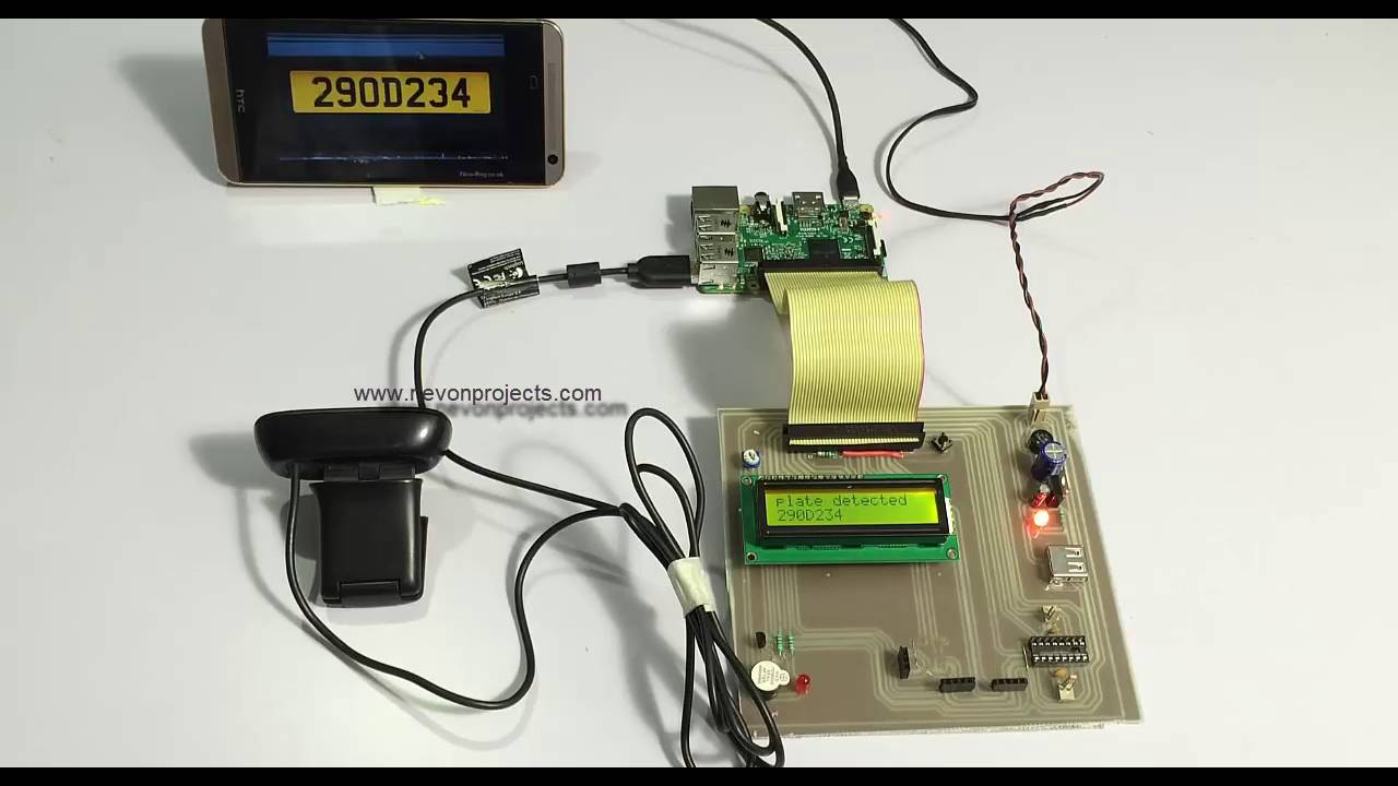 Raspberry Pi Vehicle Number Plate Recognition Project