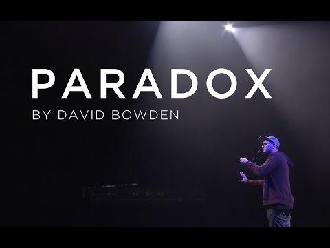 Challenge 2016 - David Bowden - Paradox (Live)