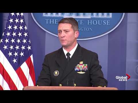 Donald Trump physical examination full presser
