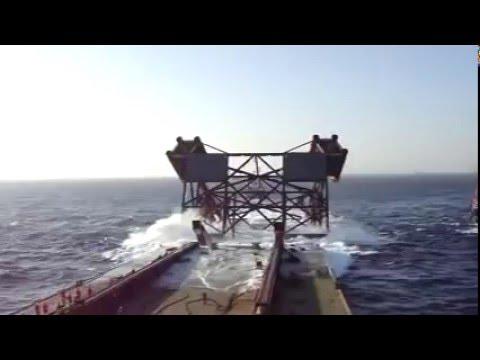 HOLMEN - Holmen Arctic - ICP-R Jacket Launching