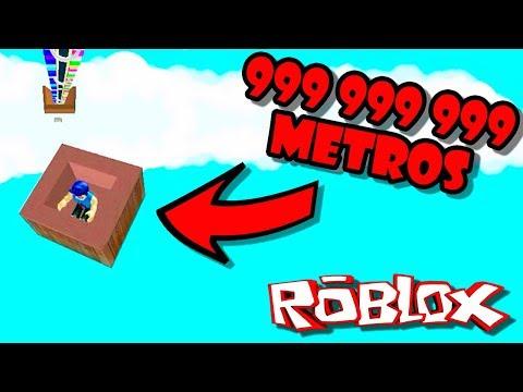SALTO DE 999 999 999 METROS EN ROBLOX   Roblox Adventures   ManoloTEVE