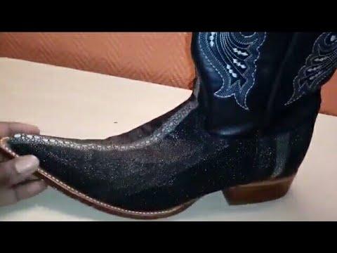 Los Altos Stingray Cowboy Boot, Rowstone with 6X Toe. Western Wear. Invicta Venom Watch N Shoes!