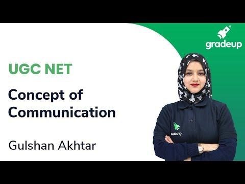 Concept Of Communication For UGC NET June 2020 Exam   Gulshan Akhtar Ma'am