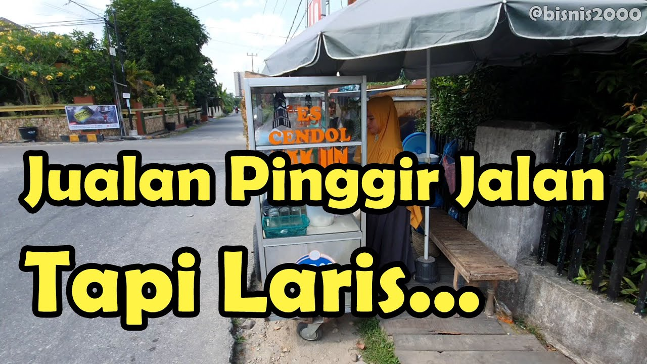 Ide Usaha Modal Kecil | Jual Cendol Pak Un di Pekanbaru ...