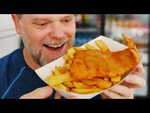 Fish And Chips At Carrara - Gold Coast Australia