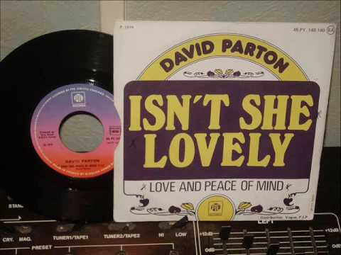 DAVID  PARTON        LOVE AND PEACE OF MIND