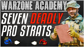 SEVEN DEADLY STRATS WARZONE PROS USE - Advanced Tactics & Strategies [Warzone Academy]
