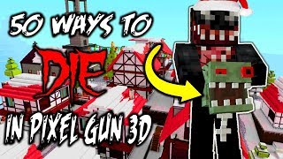 50 Ways to Die In Pixel Gun 3D - Christmas Edition (Part 1)