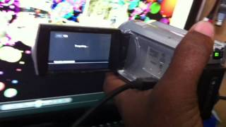 Sony DCR- SR68 handycam movie recording disabled (Easy fix)