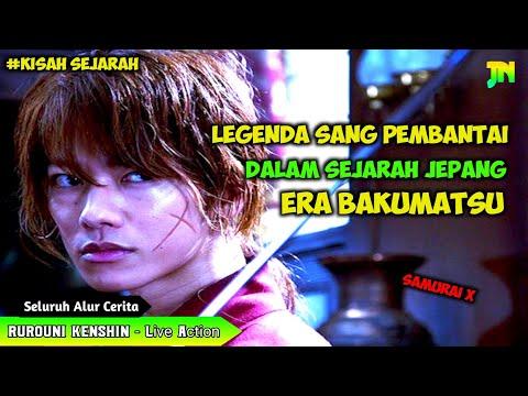 KISAH SANG LEGENDA P3MB4NTAI DI JEPANG || Seluruh Alur Film RUROUNI KENSHIN LIVE ACTION [1-2-3]