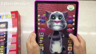 Кот Том. Говорящий кот Том планшет. Интерактивная игрушка. Обзор