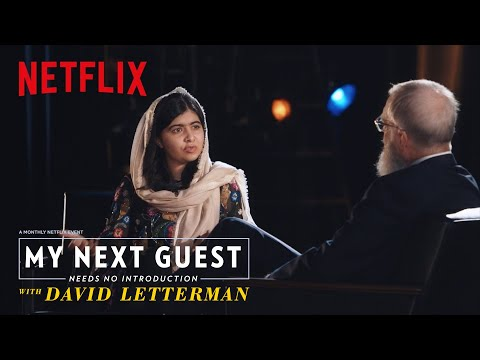 Malala Yousafzai on Women's Equality   My Next Guest Needs No Introduction   Netflix