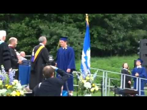 Jacob graduates RHAM High School class of 2015