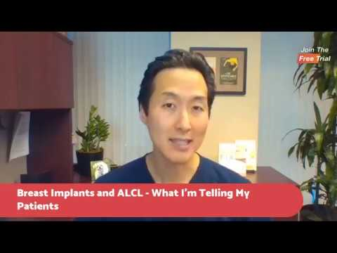 ALCL in Textured Breast Implants and What You Need to Know Dr. Anthony Youn