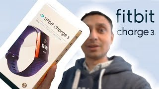 How to SetUp FitBit Charge 3 Rose Gold / Grey / Purple NOT QUICK! + Unboxing