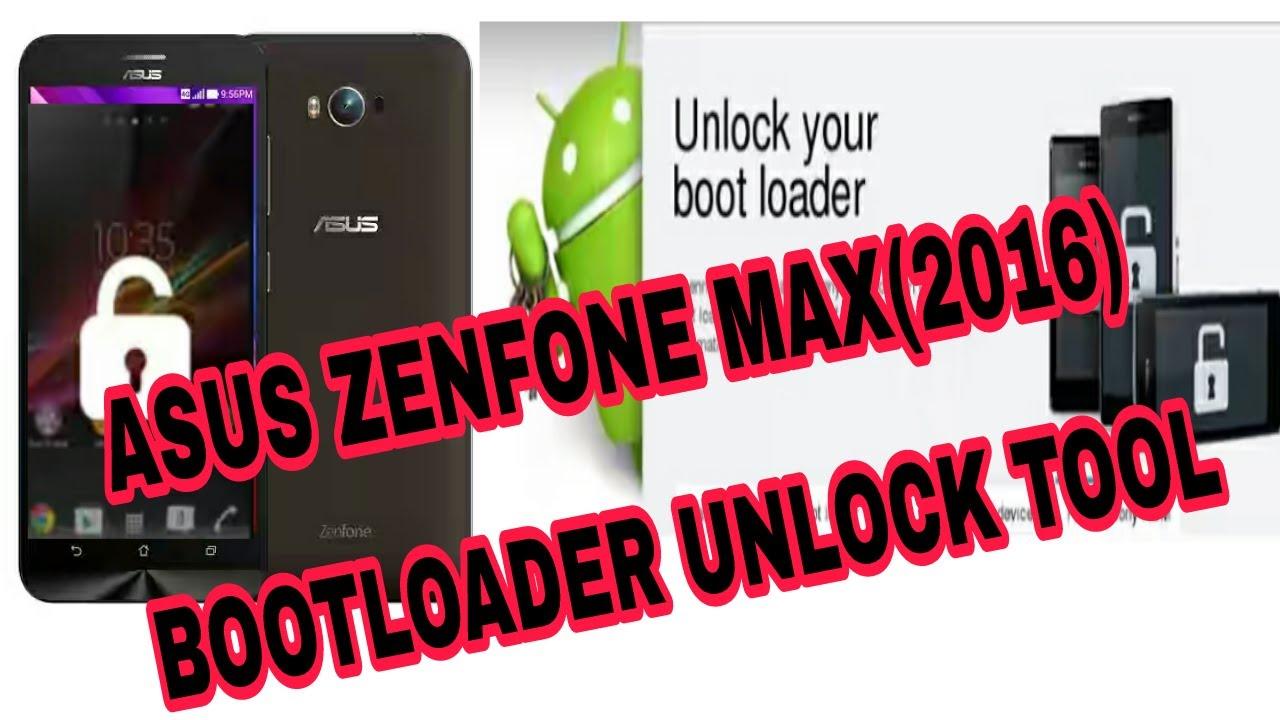 HOW TO UNLOCK BOOTLOADER ON ASUS ZENFONE MAX 2016 (ZC550KL)
