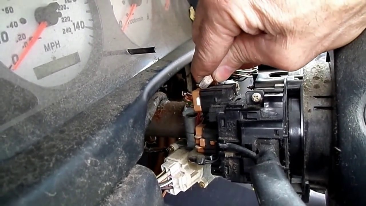 nissan sentra multifunction switch removal [ 1280 x 720 Pixel ]