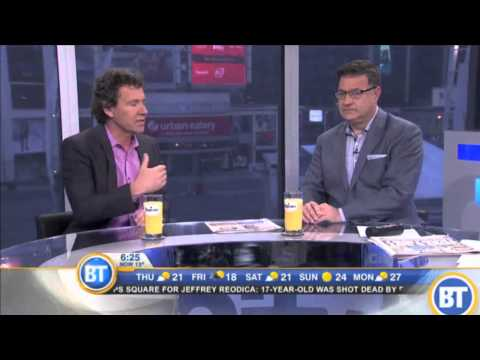 Tony Chapman: Ontario provincial election- Citytv Breakfast Television
