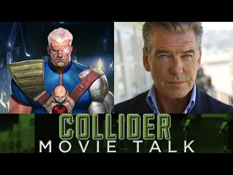 Are Ryan Reyonlds and Hugh Jackman Teasing Pierce Brosnan As Cable? - Collider Movie Talk