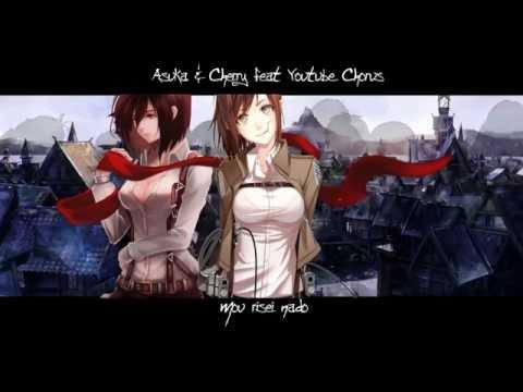 「CherryxAsuka feat. YouTube Chorus」 Utsukushiki Zankoku na Sekai [Fancover]