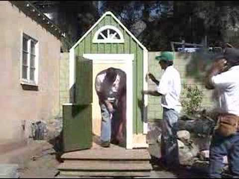 Playhouse for Outdoor Oasis
