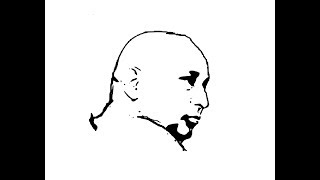 How to Draw Guruji face pencil drawing step by step