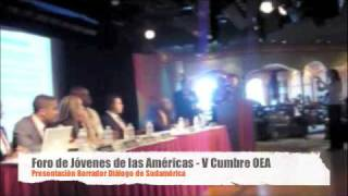 Youth Americas Forum - South America Dialogue(, 2009-04-20T19:25:26.000Z)