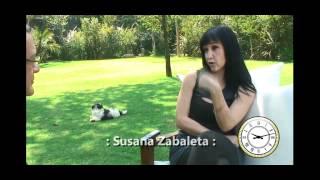 Los amores de Susana Zabaleta, Entrevista con 24 Horas (1/3)