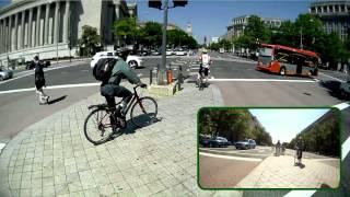 Pennsylvania Avenue Bike Lanes, Washington, DC