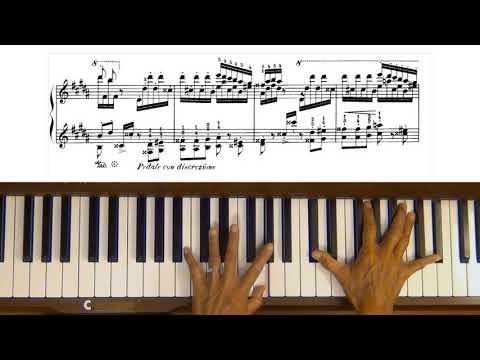 Liszt La Campanella Piano Tutorial Part 1 (with score) thumbnail